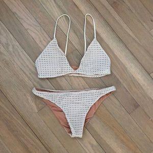 Acacia mesh bikini set